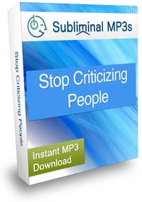 Stop Criticizing People