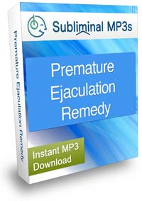 Premature Ejaculation Remedy